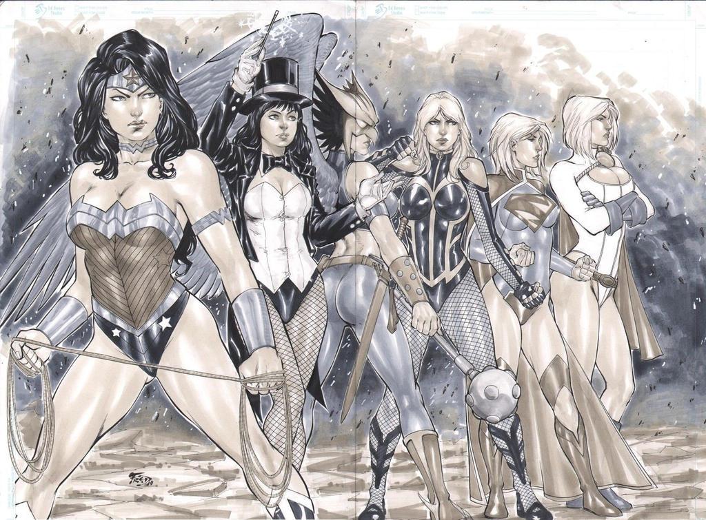 DC girls by Fredbenes