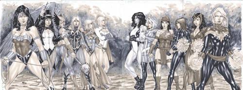 DC vs Marvel girls