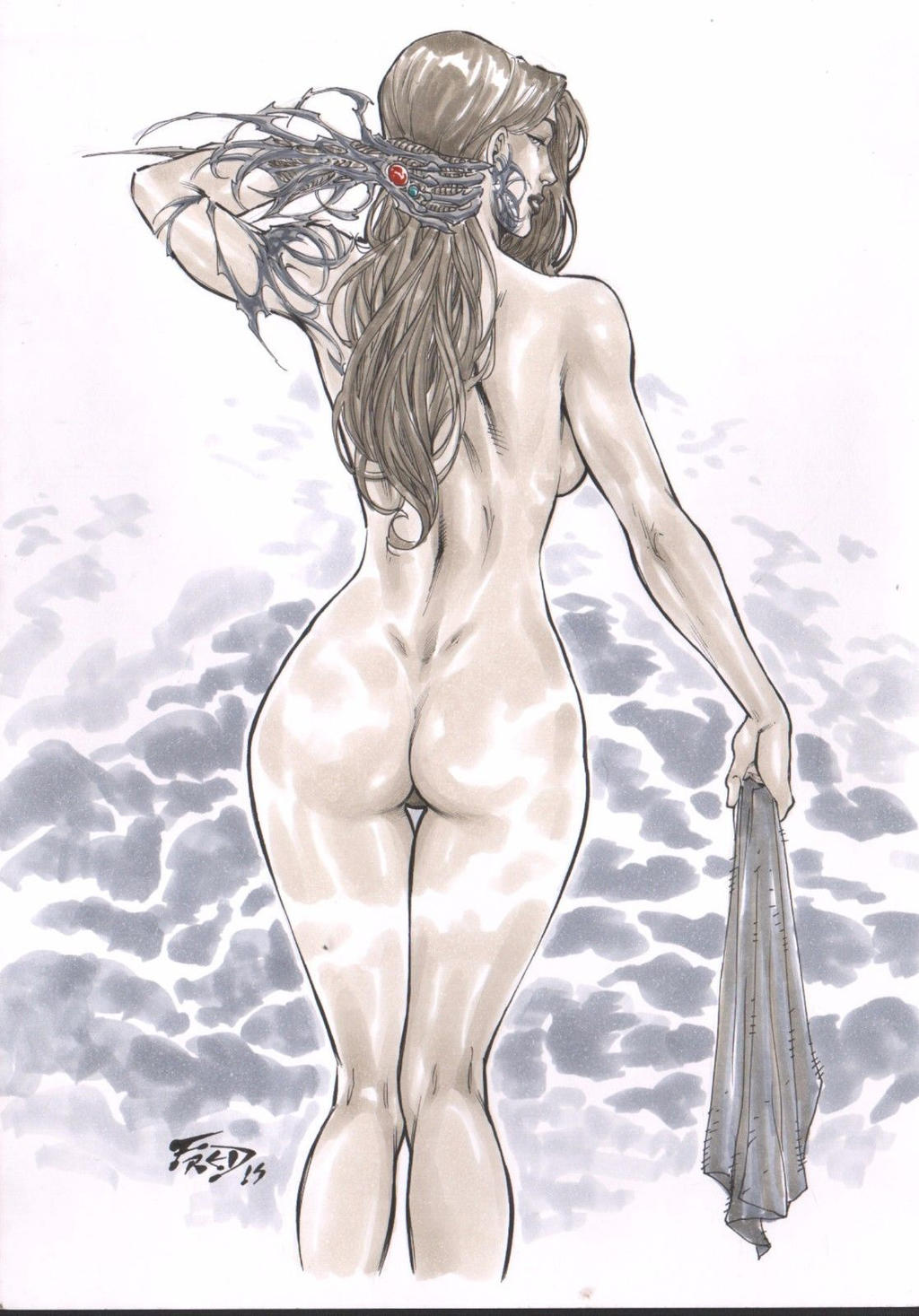 Valuable piece Witchblade nude scene pity, that