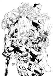 X-MEN by Fredbenes