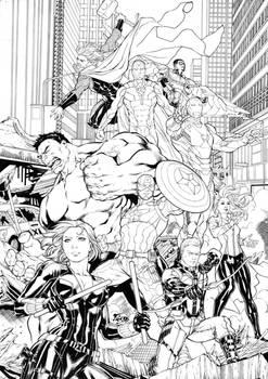 Avengers ink