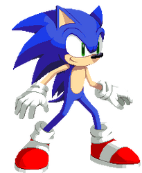 DBFC Sonic the Hedgehog by Pin-point