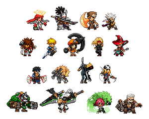 GG Petit-Style -Strive- Characters