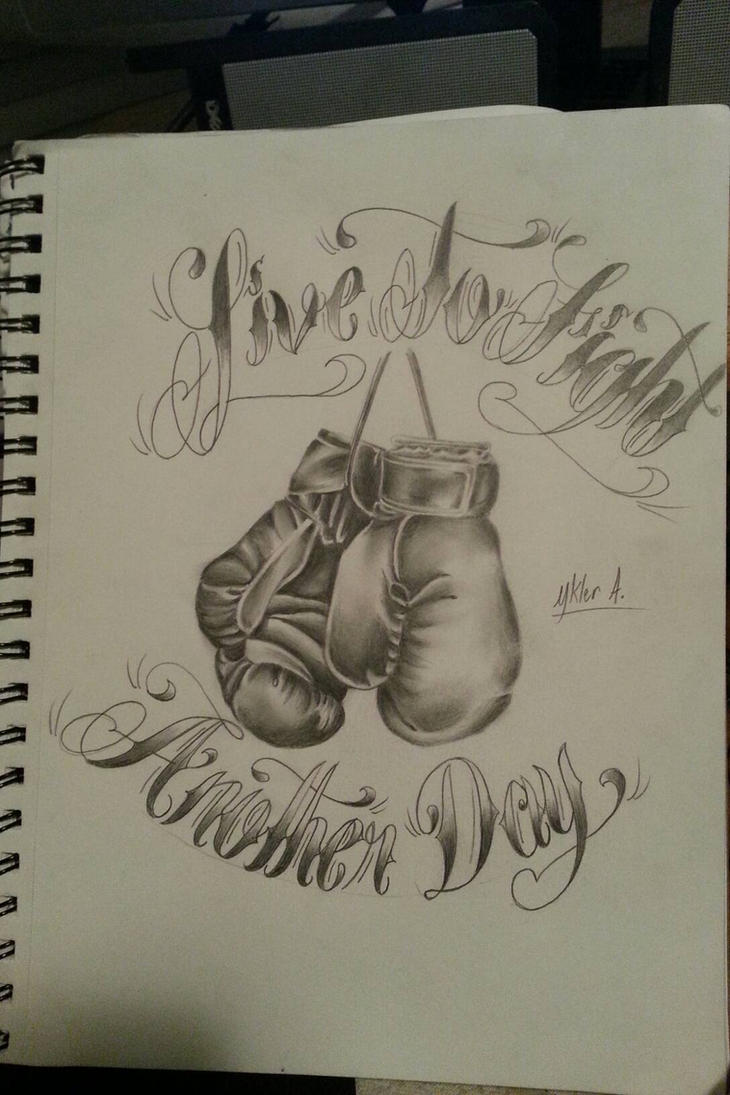 free draw boxing gloves by 12HighOnLife14 ...