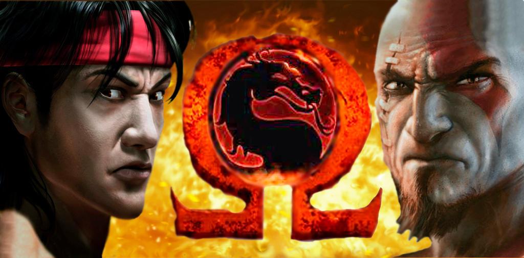 Liu Kang And Kratos By Juan Metallica02