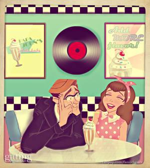 50's Diner Date - Milo/Jane