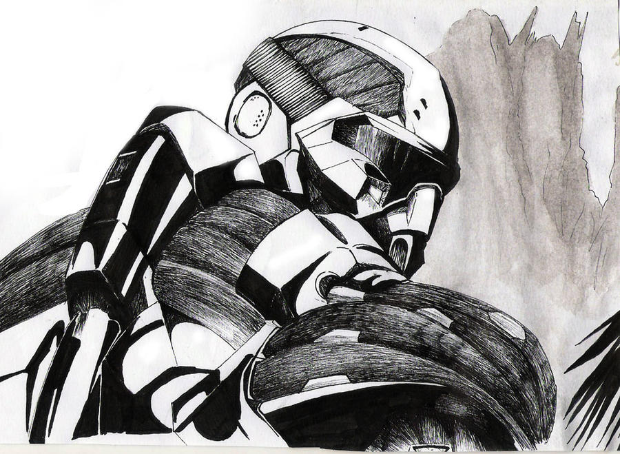 Nomad In: Crysis By Moteh On DeviantArt