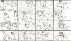 KittyIan sketch comic strips
