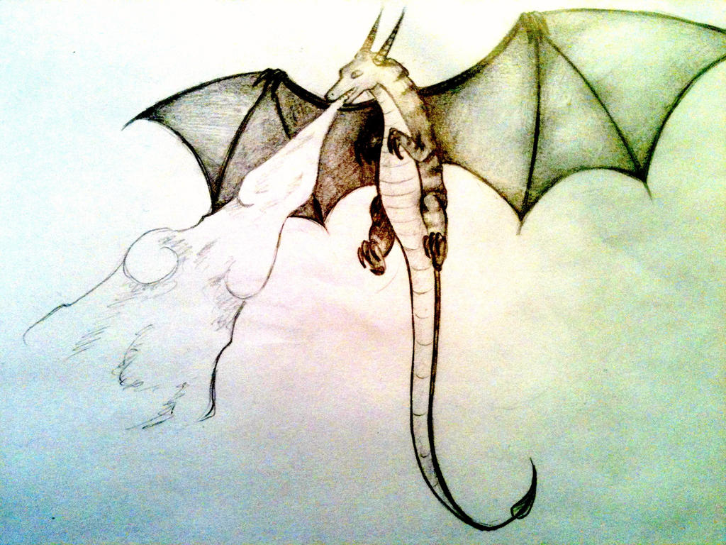 Flying Fire Dragon by clockworkpieces on deviantART