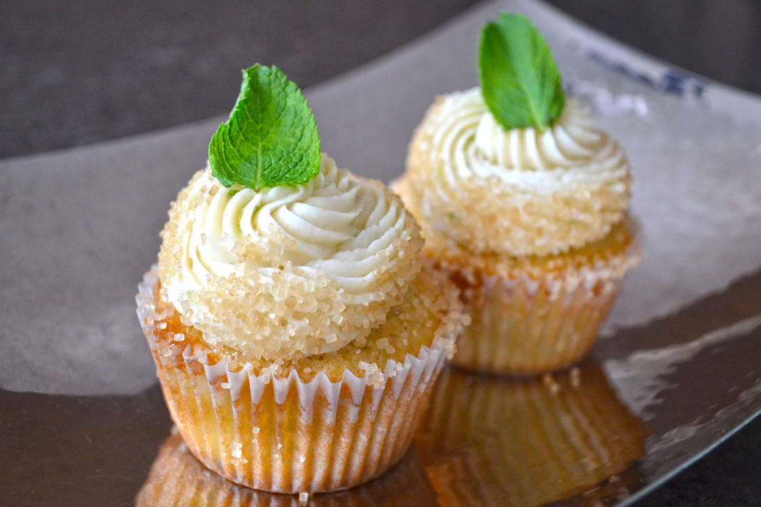 Mojito Cupcakes by queen382