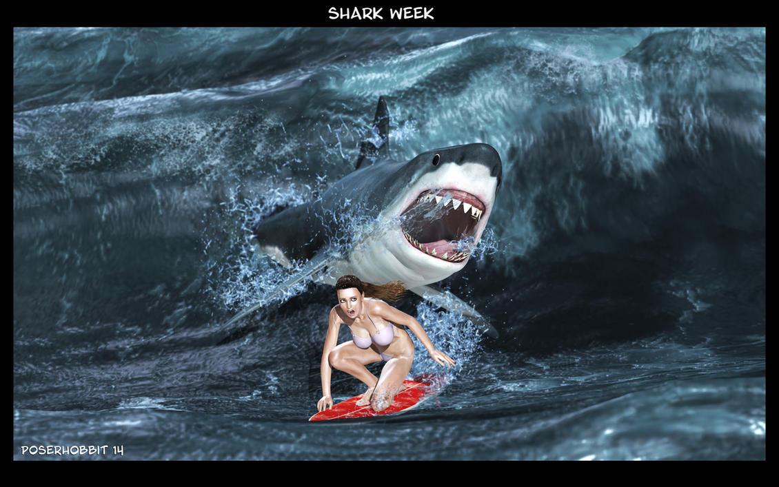 Shark Week II by Poserhobbit
