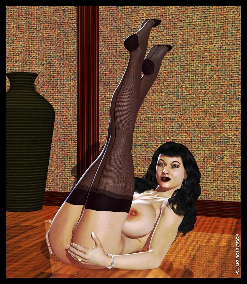 Bettie on Floor II by Poserhobbit