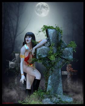 Vampirella Halloween... Trick?