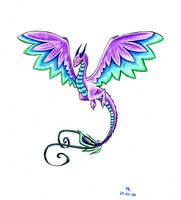 Airborne Dragon by Gorgone