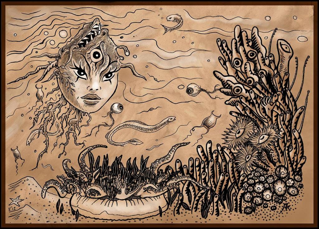 underwater mutations by Gorgone