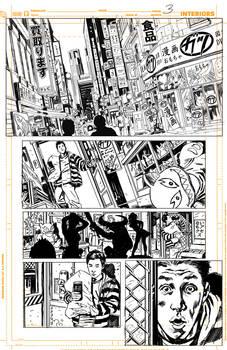 Batman Inc 'pencils' page 1