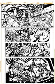 Batman Inc 'pencils' page 11