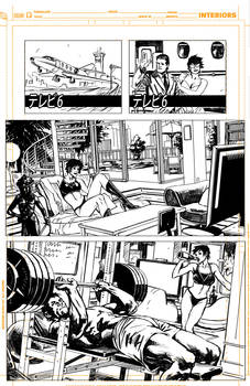 Batman Inc 'pencils' page 12