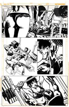 Batman Inc 'pencils' page 13