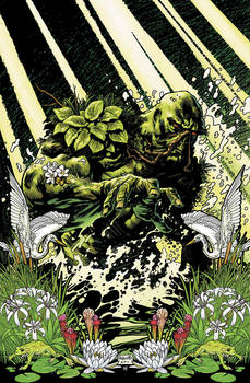 Swamp Thing 1 cover
