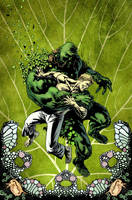 Swamp Thing 2 cover by YanickPaquette