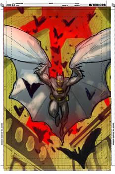 Batman Inc Cover Sketch