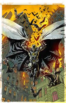 Batman Inc Cover Color Guide