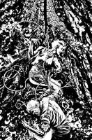 Swamp Things 6, Cover Ink by YanickPaquette