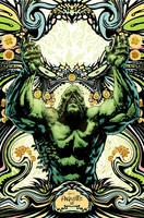 SWAMPTHING cover 7 by YanickPaquette