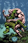 Swamp Thing cover #10