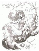 Pariscon sketch-3 by YanickPaquette