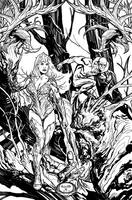 Swamp Thing issue 13 by YanickPaquette