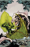 Swampthing cover 14, color