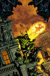 Swampthing cover 15, color