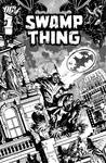 Swampthing cover 15, B/W
