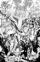 Swamp Thing 13 p.10 by YanickPaquette