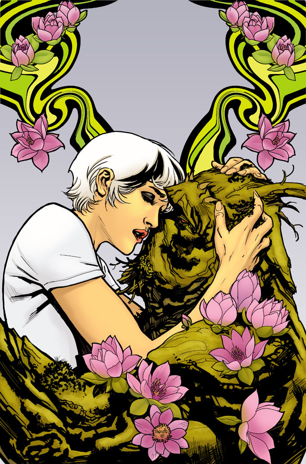 Swamp Thing #18, final color by YanickPaquette
