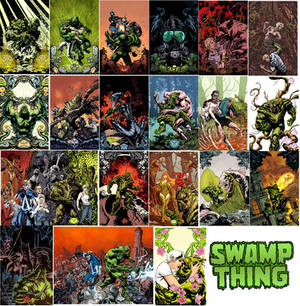 SWAMP THING COVER RUN
