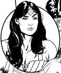 A little Wonder Woman Earth One snippet