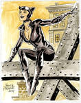 Catwoman sketch for Germany