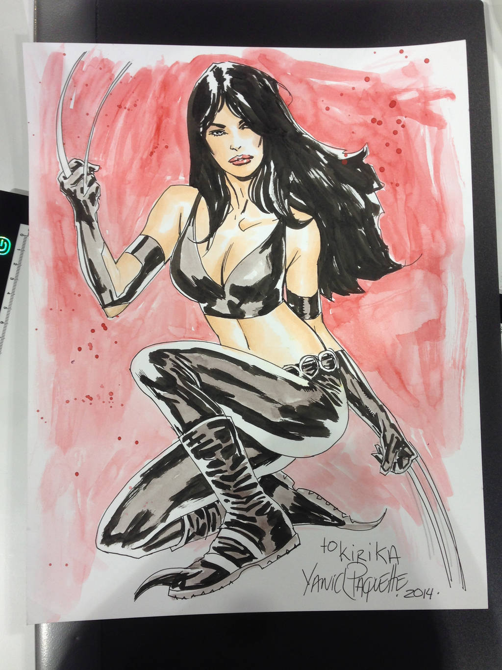 X-23 sketch by YanickPaquette
