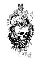 A tattoo design for a Friend. by YanickPaquette