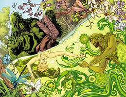 Swamp Thing annual #3 by YanickPaquette