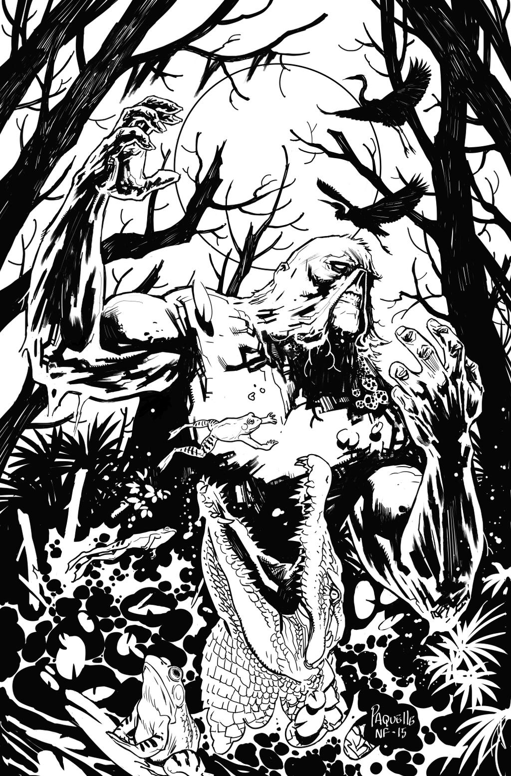 Swamp Thing Variant