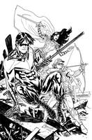 Titan Hunt by YanickPaquette