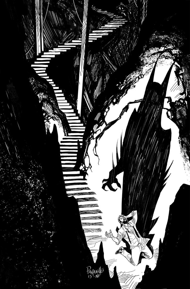 BATMAN #49 by YanickPaquette