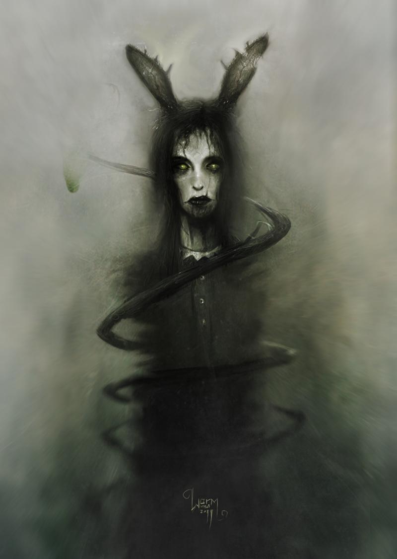 Cadaverous Girl by DamienWorm