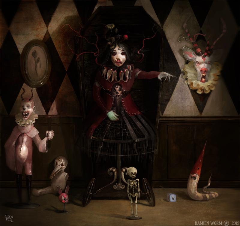 Hell's Kindergarten by DamienWorm