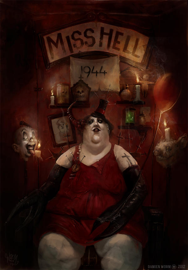 miss hell 44 by DamienWorm