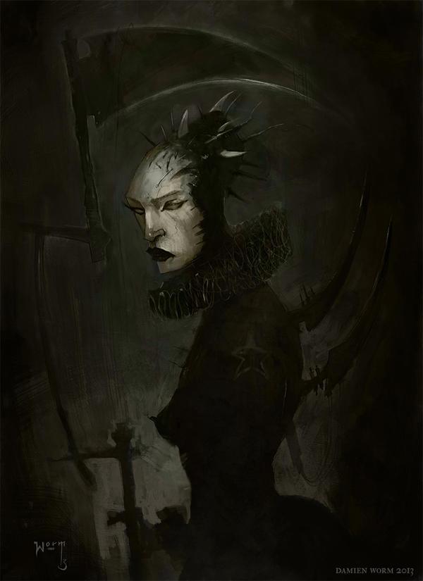 Countess Bathory by DamienWorm